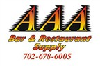 AAA Bar & Restaurant Supply